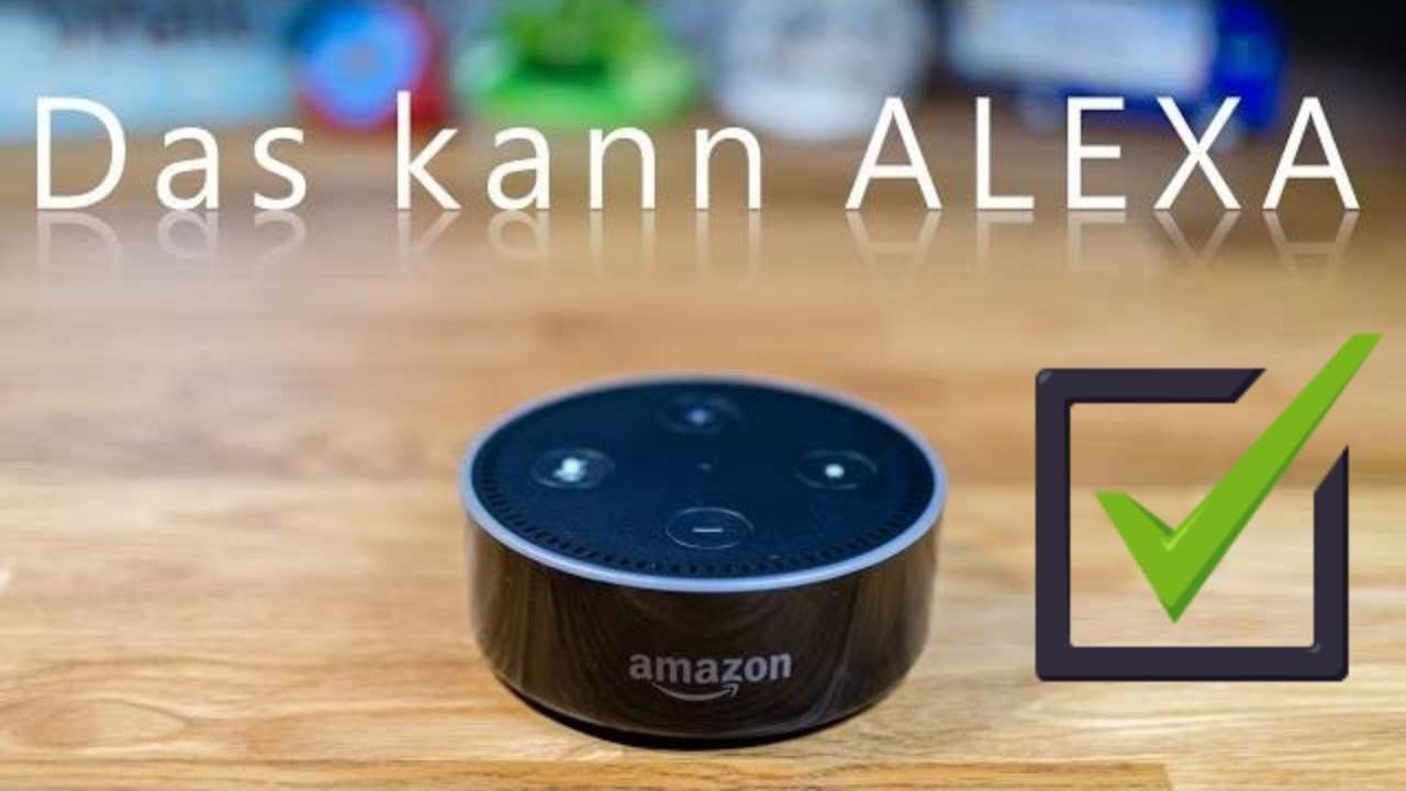 amazon alexa das kann der echo dot schon jetzt youtube. Black Bedroom Furniture Sets. Home Design Ideas