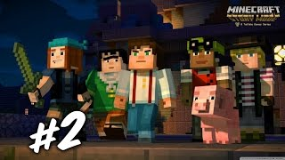 Download Video Minecraft Story Mode | Chapter1 Ep2 | Pencuri Tagunaa!!~ MP3 3GP MP4