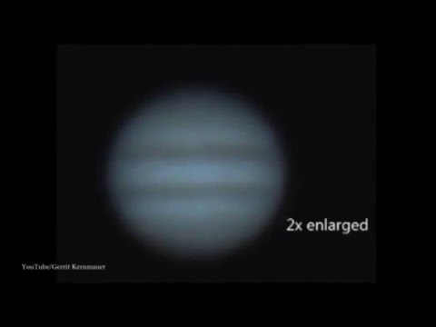 Video Captures Asteroid Impact On Jupiter March 17th 2016