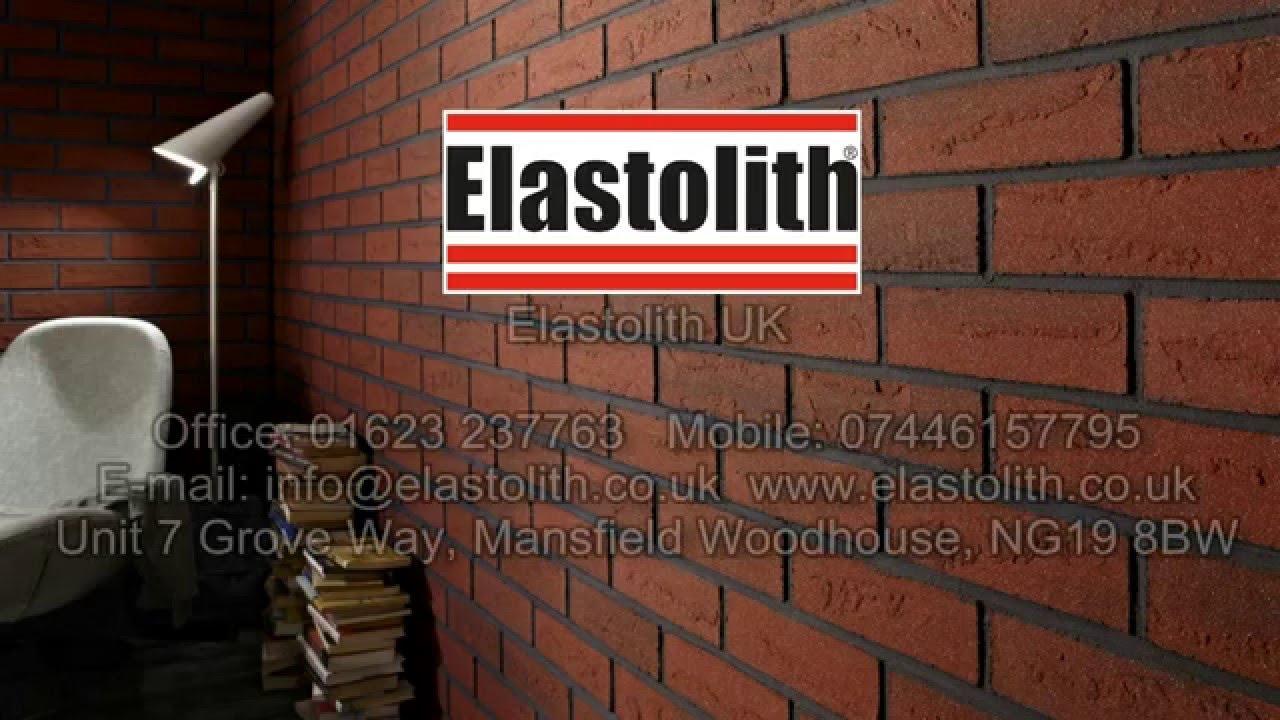 Elastolith Uk 174 Flexible Brick Slips Youtube