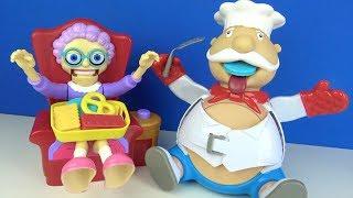 Tombik Aşçı Cingöz Ninenin Kurabiyelerini yerken boğazında kaldı Doktor Dottie ile Doktorculuk Oyunu