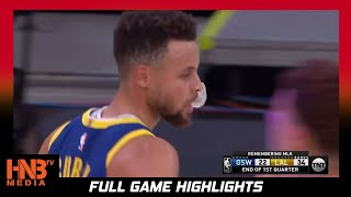 GS Warriors vs LA Lakers 1.18.21 |  Full Highlights
