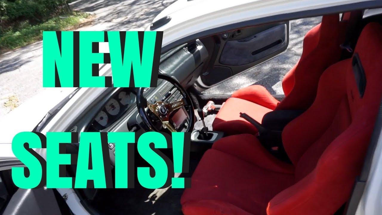 Civic Gets Type R Recaro Seats Hsg Ep 5 53 Youtube