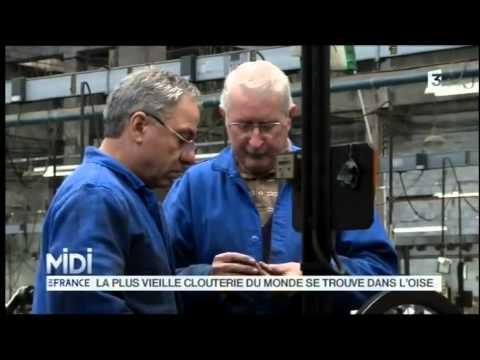 Clouterie RIVIERRE - Reportage Midi en France (France 3 ) du 19.12.12