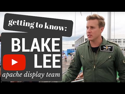 Getting to know: Blake Lee, Attack Helicopter Display Team  Room4Aviation