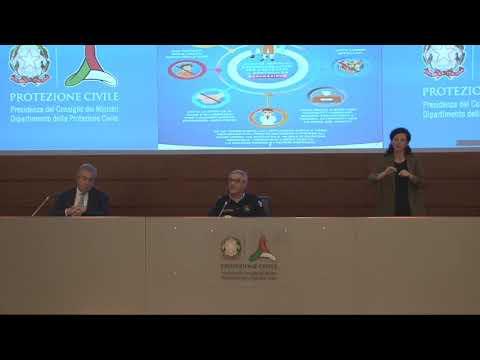 Conferenza stampa 17 aprile 2020 ore 18.00 – Coronavirus
