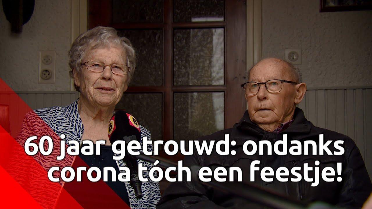 Betere 60 jaar getrouwd: ondanks corona tóch een feestje! - YouTube IY-81