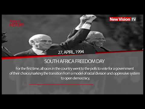 Today in history - South Africa Freedom Day