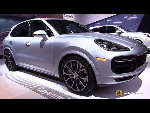 2018 Porsche Cayenne Turbo - Exterior and Interior Walkaround - 2017 LA Auto Show