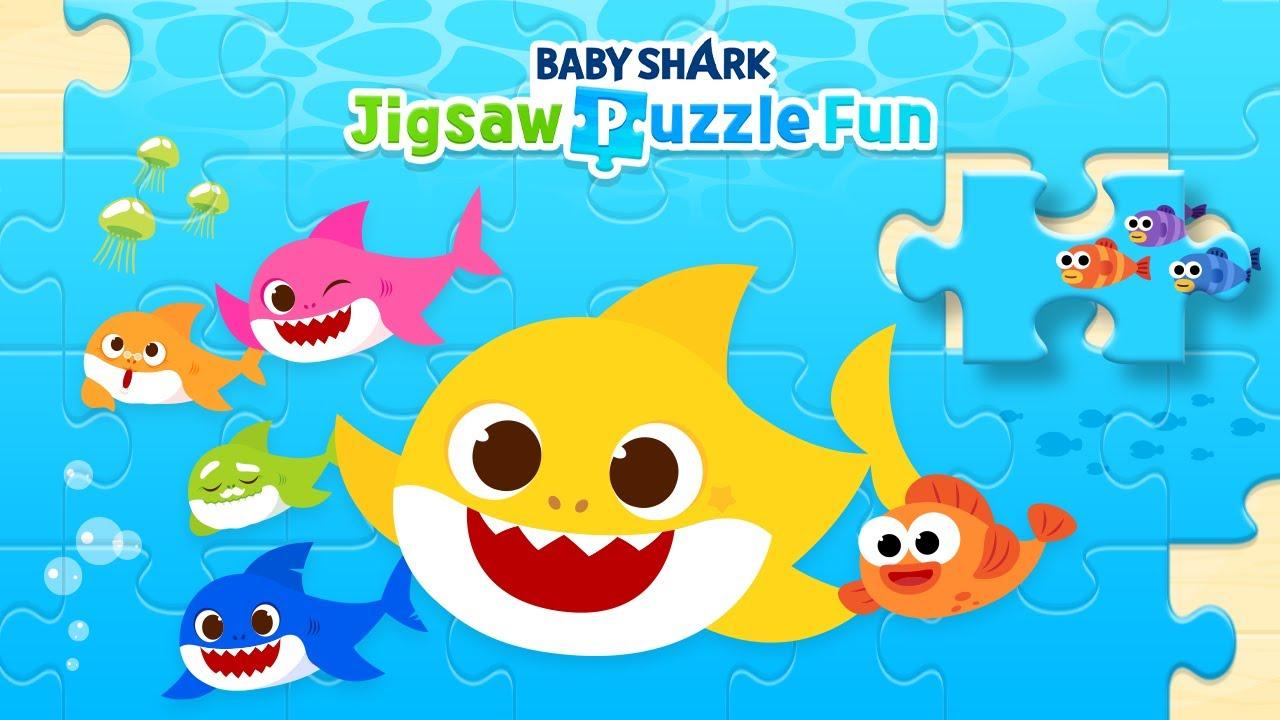 [App Trailer] ปริศนาตัวต่อ จิ๊กซอว์ฉลามน้อย   Baby Shark Jigsaw Puzzle Fun