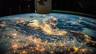 ISS Timelapse - A trip from France to Cyprus (07 Febbraio 2015)