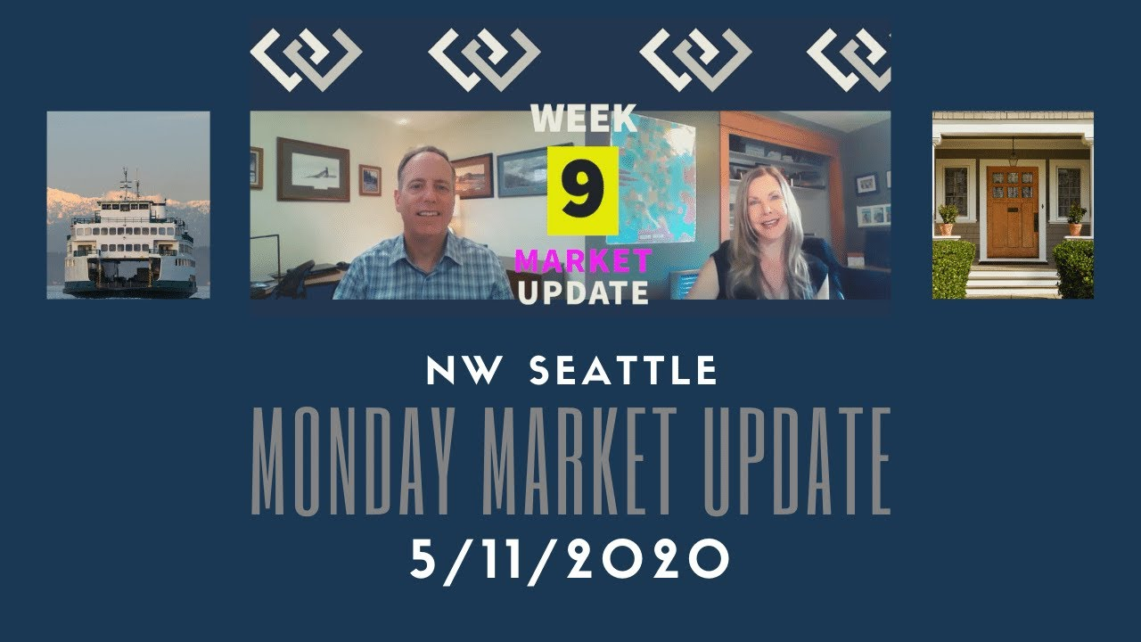 Monday NW Seattle Real Estate Market Update 5.11.2020