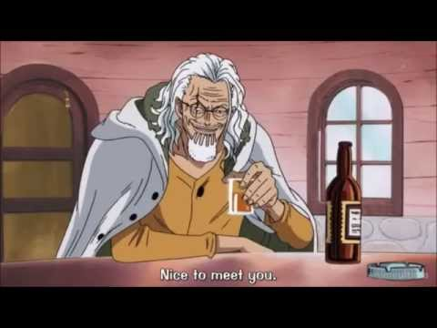 Strawhat Pirates meets Silvers Rayleigh