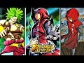 NEW HOODED SAIYAN IN RED GAMEPLAY VS SPARKING BROLY - Dragon Ball Legends STORY MODE Gameplay