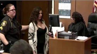 Brat Laughs During Sentencing, Then Judge Wipes Smug Grin Off Her Face