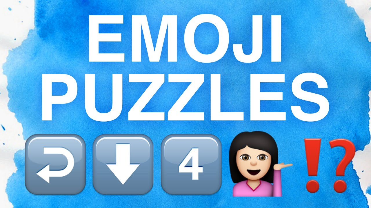 Can You Solve These Emoji Puzzles