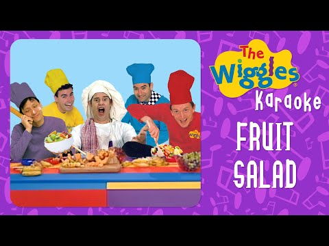The Wiggles - Fruit Salad (Karaoke with Chords) - YouTube