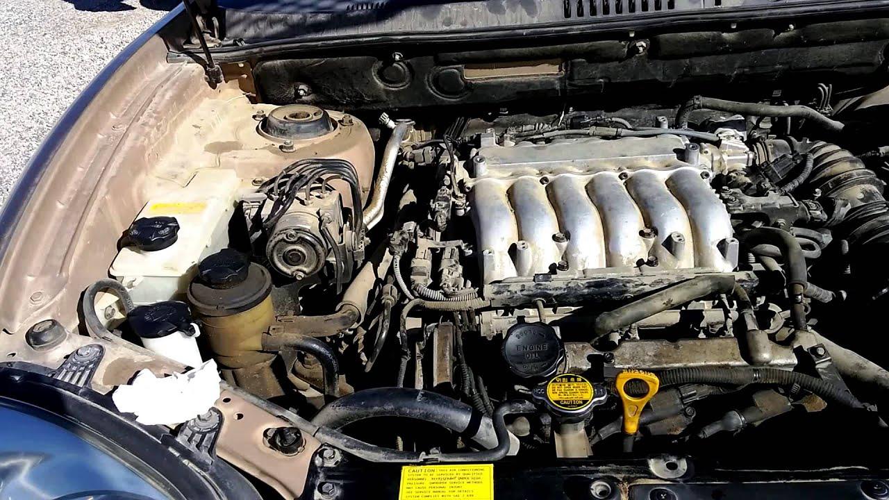 2004 Hyundai Santa Fe engine problem knock  YouTube