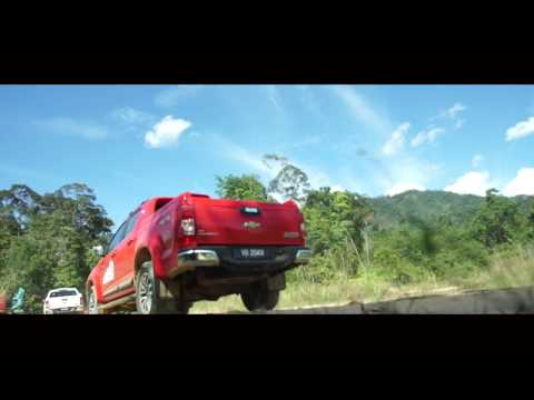 All-New Chevrolet Colorado Media Drive Highlights