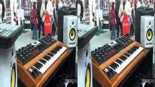 mmag.ru: Moog Minimoog Voyager 3D video presentation