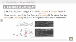 Physics Introduction | Ch7 | Mechanics of non viscous fluids | Equation of Continuity
