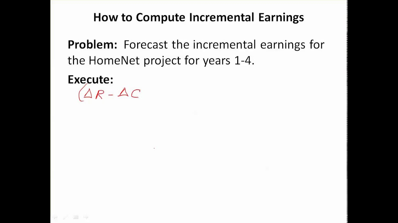What Is the Definition of Incremental Profit?