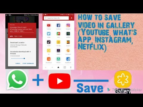 How To Save Social Video In Gallery (YouTube, Netflix, Hotstar)