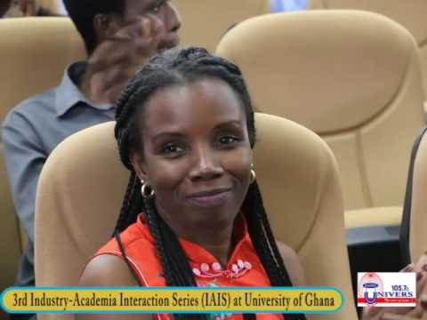 3rd Industry-Academia Interaction Series (IAIS) at University of Ghana