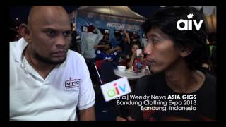 ASIA INDIE VIDEO (AIV NEWS 5A) BANDUNG CLOTHING EXPO 2013