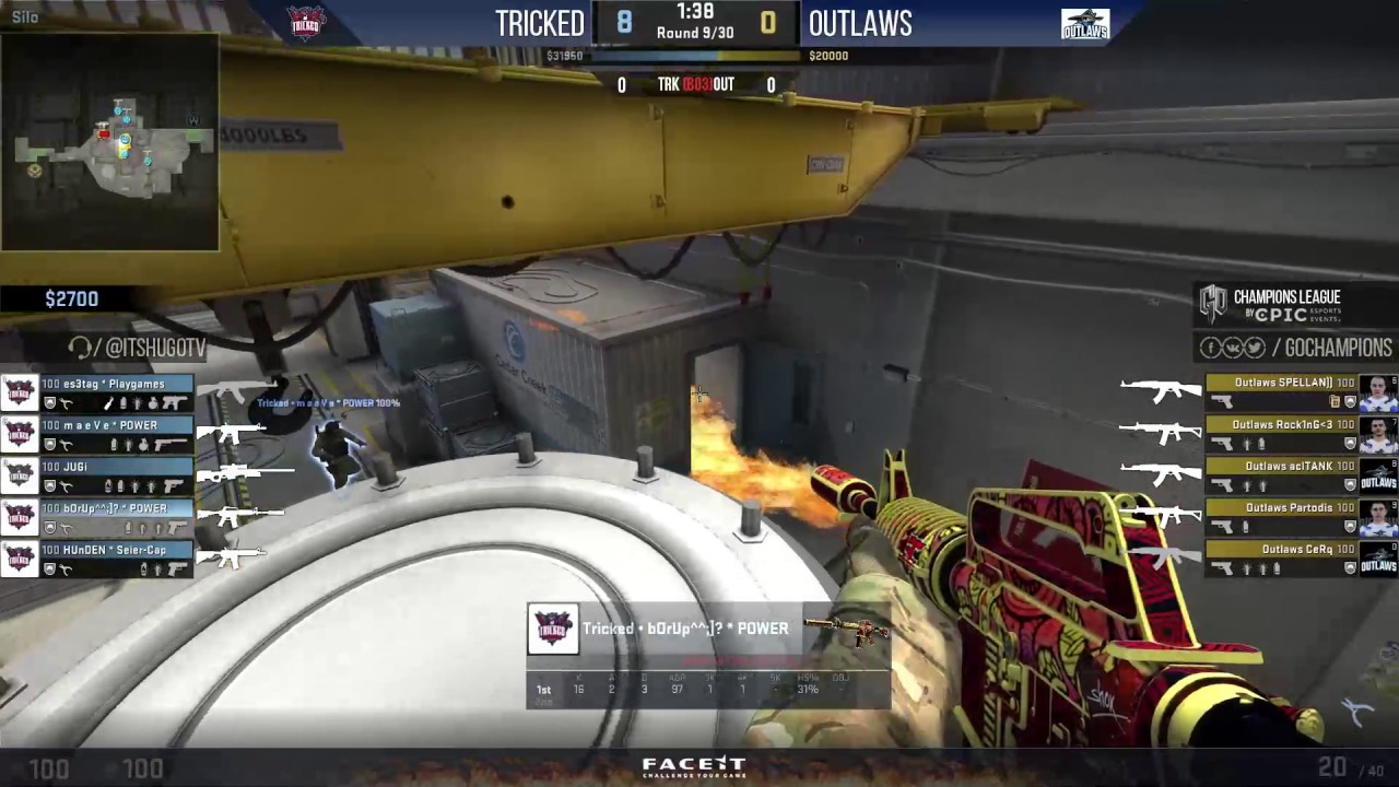 [EN] Tricked vs. Outlaws (Map 1) @GOCL S5