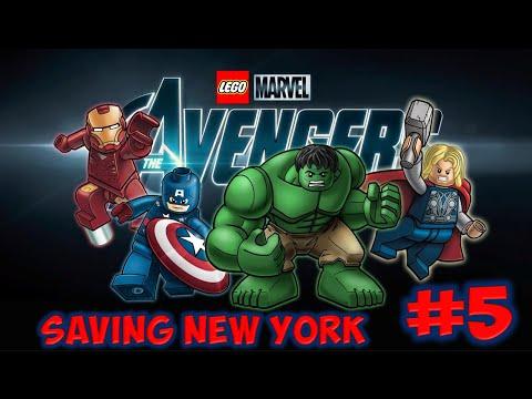 LEGO Marvel's Avengers (3DS) - Part 5: Saving New York
