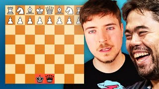 I Beat MrBeast With Just a King and a Queen