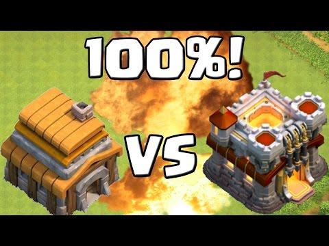 RATHAUS 5 vs. RATHAUS 11 - 100%! || CLASH OF CLANS || unfassbarer CW! [Android iOS PC]