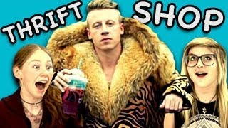 teens react to thrift shop macklemore ryan lewis