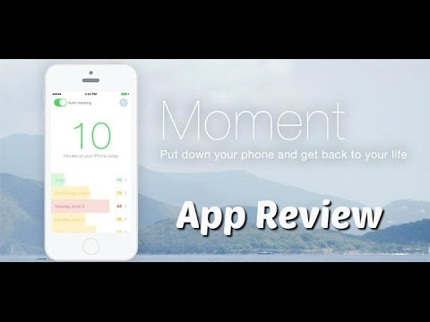 Moment - App Review - Phone Usage Monitor
