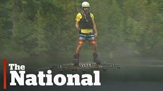Canadian Develops Futuristic Hoverboard