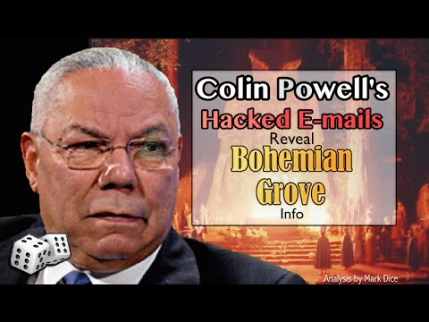 Hacked Colin Powell Emails Reveal Bohemian Grove Info  YouTube