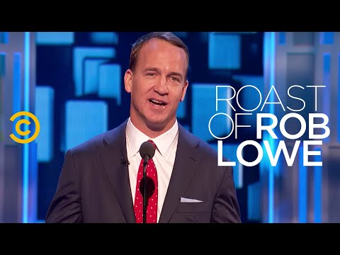 Roast of Rob Lowe - Peyton Manning - A History of Cancellation