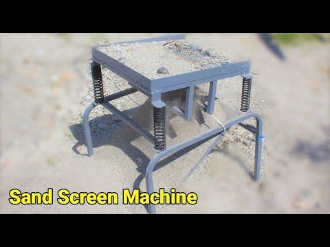 DIY Sand Screen Machine