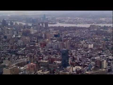NYC Flight over the Hudson River