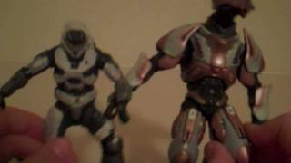 Halo Reach (series 1) 2 pack elite ultra and white spartan Thumbnail