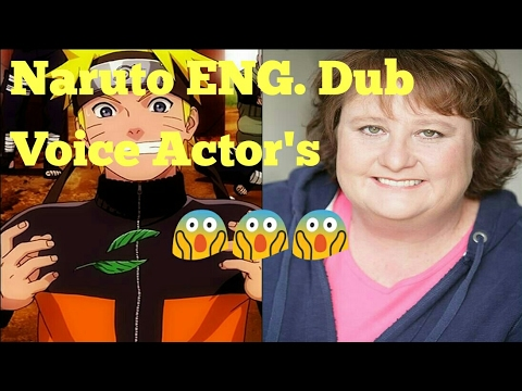 Naruto Shippuden Voice Actor's English Dub