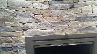 Fireplace Stone Refacing