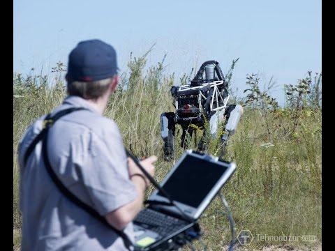 "Военный робот ""Boston Dynamics"" Озвучка! ( много мата)"