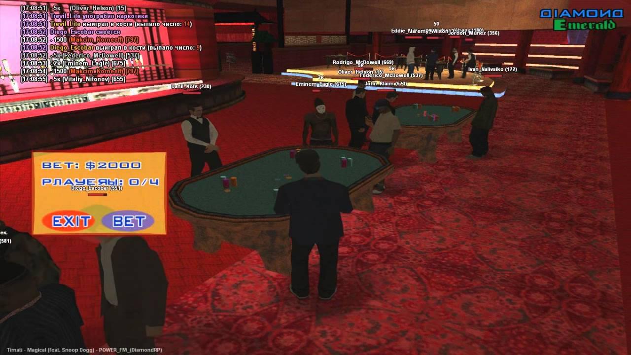 Samp rp чит на казино кик игроков бал ли вопрос задан путину 4 декабря ро закрытия казино