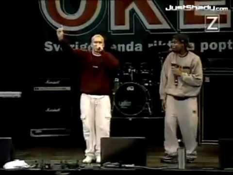 eminem my name is live in stockholm sweden 1999 rare footage