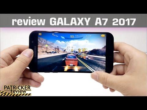 รีวิว Galaxy A7 2017 ไทย