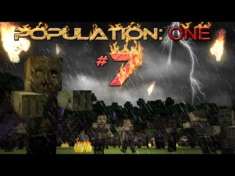 POPULATION ONE: 'Property of Mankind' #7 (FINALE) - Minecraft MOVIE