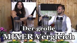 Der Mega-Mixer-Test: 4 Hochleistungsmixer im Vergleich (Vitamix, Bianco, Omniblend, Harrexco)