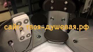 Обзор душевой кабины ODA 8318 100х100